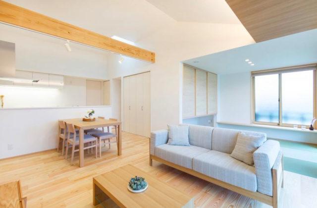 SELECTINO 東餅田モデルハウス「価格も、見た目も、性能も、ちょうどいい3LDK+高天井の平屋 」(姶良市)