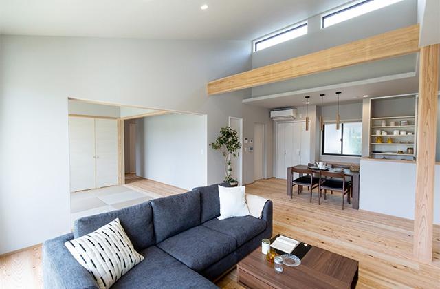 SELECTINO ピースフルタウン札元モデルハウス「家事がうんと楽になる家」(鹿屋市)