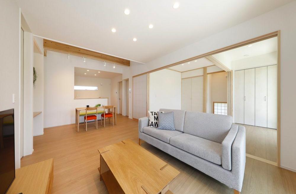SELECTINO 旭原6期モデルハウス 平屋 4LDK+勾配天井