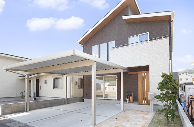 スムーズな動線で家事時間を大幅短縮できる高性能住宅 七呂建設