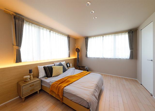 川内モデルハウス主寝室七呂建設