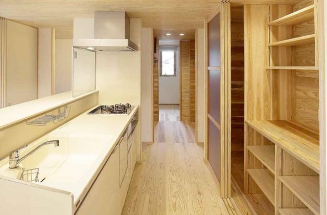 キッチン - 住まいず 建築事例