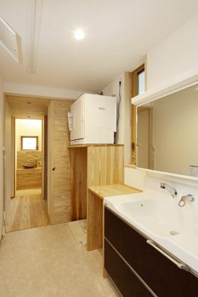 洗面スペース - 住まいず 建築事例