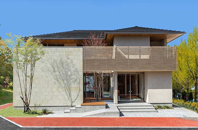 上質な自然素材がもたらす安らぎと癒し。TKU住宅展示場住まいランド 谷川建設