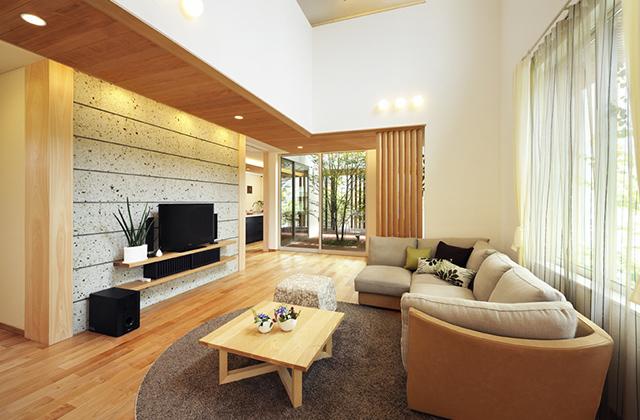 谷川建設 抜群の強度と耐久性を誇る木曽檜が香る家