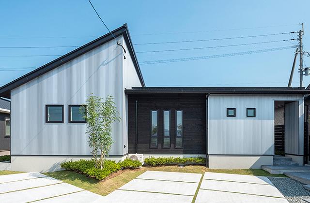 国分モデルハウス「モノトーンが特徴!開放的な平屋の家」 トータルハウジング