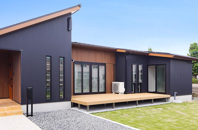 トータルハウジング 将来を考えた合理的なこだわりの平屋 (南九州市)