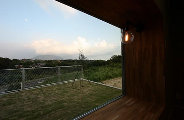 庭 - ツマガリハウス 建築事例