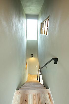 階段 - ツマガリハウス 建築事例