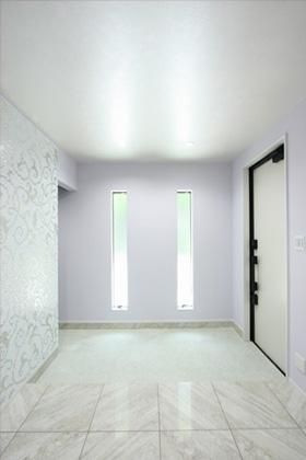玄関 - ツマガリハウス 建築事例