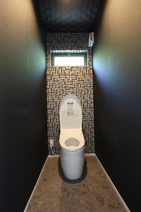 トイレ - ツマガリハウス 建築事例