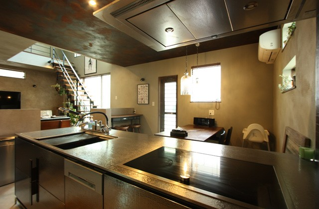 キッチン - ツマガリハウス 建築事例