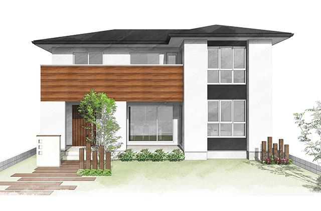 鹿児島市中山にてモデルハウス「家族のつながりをデザインする家」の見学会