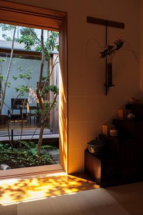 ベガハウス 2つの中庭から光と風と緑を感じるのびやかな家 事例写真07