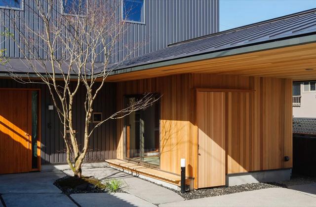 ベガハウスの建築事例 見晴らしのよい住宅地に暮らす「丘のいえ」