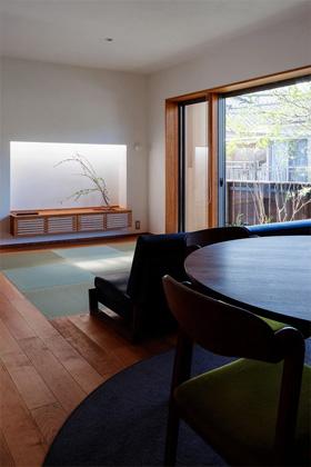 リビング - ベガハウスの建築事例 見晴らしのよい住宅地に暮らす「丘のいえ」