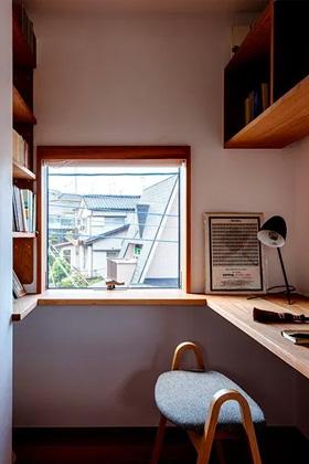 書斎 - ベガハウスの建築事例 見晴らしのよい住宅地に暮らす「丘のいえ」