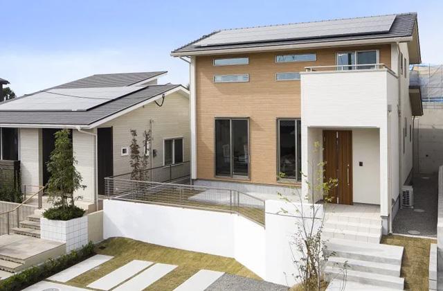 アイリスガーデン吉野モデルハウス ヤマサハウスの建売住宅【2階建】