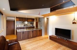 子世帯のキッチン - ヤマサハウス