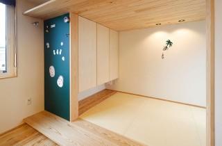 天井を低くした和室 - ヤマサハウス