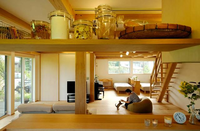 ヤマサハウス MOOK HOUSE 木のぬくもりに安らぎを感じるロフトのある平屋