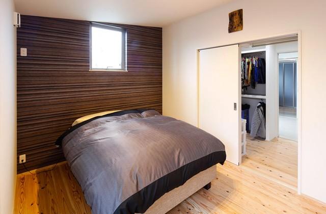 主寝室 - ヤマサハウス