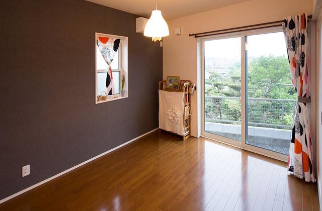 寝室 - ヤマサハウス