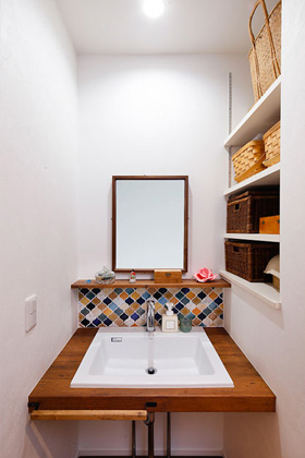 洗面所 - ヤマサハウス