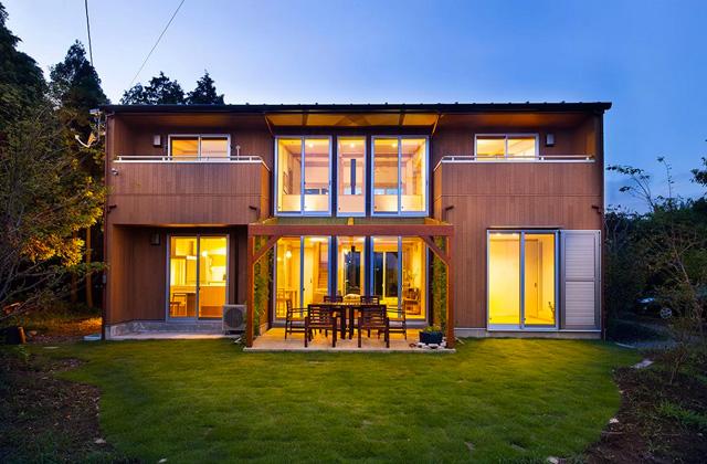 ヤマサハウス 自然に囲まれて別荘暮らしのようなスローライフを楽しむ家