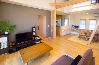 ヤマサハウス 和風とモダンをミックスした快適で環境にもやさしいLCCMの平屋