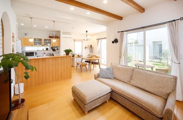 ヤマサハウス 建築事例 好きなものに囲まれて暮らすナチュラルフレンチカントリーの住まい