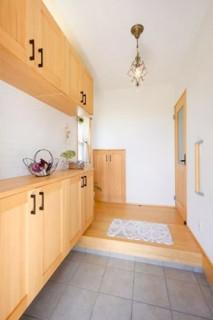 玄関収納 - ヤマサハウス 建築事例