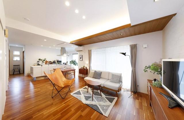 ヤマサハウス 建築事例 - 北欧ヴィンテージ家具が似合う穏やかな時間が流れる家