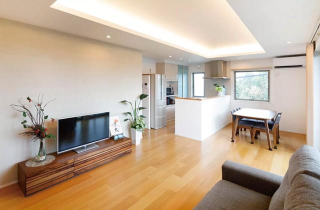 ヤマサハウス 建築事例 - 気兼ねなくそれぞれに暮らしながら交流も楽しむ2世帯住宅