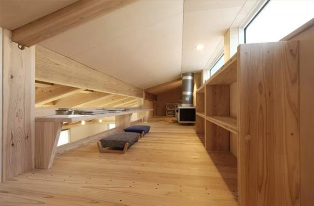 ヤマサハウス 建築事例 - 多目的につかえる広々としたロフト空間
