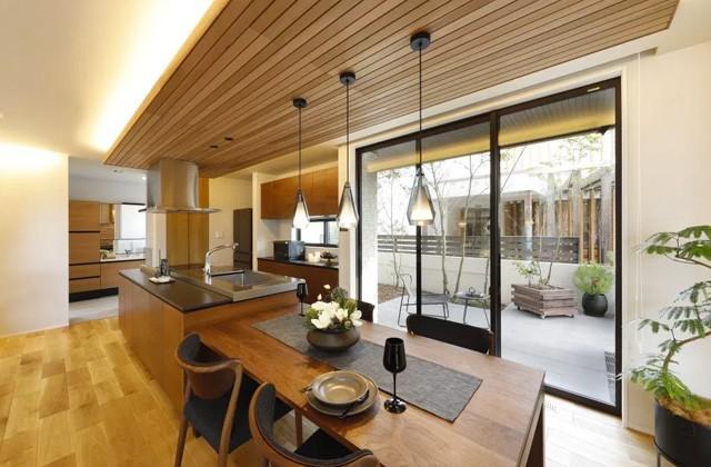 ダイニングキッチン KTS住宅フェア「人と自然との調和 鹿児島の邸宅『GRANFECT』」(鹿児島市)