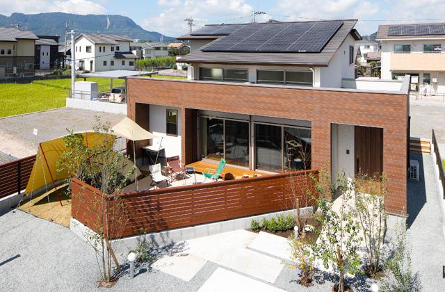 ヤマサハウス 松原モデルハウス「『ソト』を感じて暮らす〜明日が楽しみな家〜」