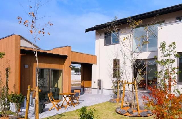 ヤマサハウス 南くらら台モデルハウス「庭に小屋のある暮らし」(鹿児島市)