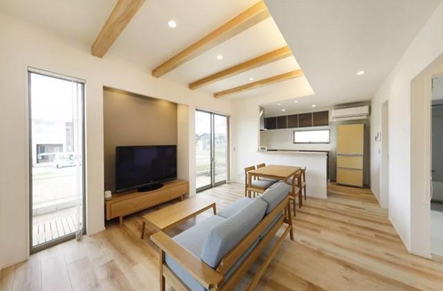 ヤマサハウス パルタウン大明丘モデルハウス「家族が健やかに暮らせる家」(鹿児島市大明丘)
