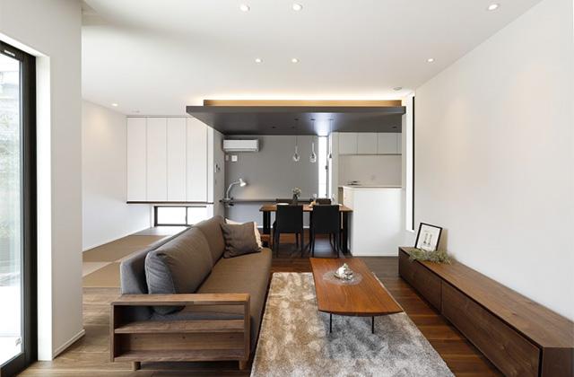ヤマサハウス サンライズ石谷モデルハウス「プライベート空間とLDKが心地よく繋がる住まい」(鹿児島市)