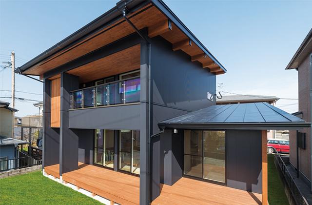 吉野BOOOTSモデルハウス「大開口のサッシから桜島を仰ぐ最高のロケーション」創造ホーム