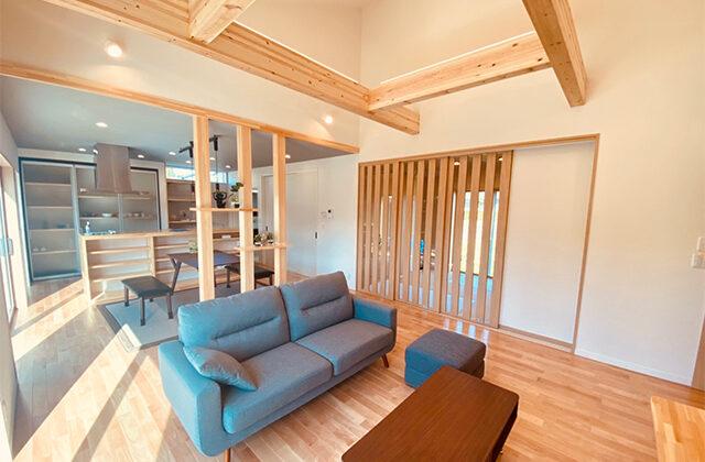 新・五日町モデルハウス(愛さ木の家シリーズ)「木のぬくもりと安心感のある家」(薩摩川内市)-ユウダイホーム