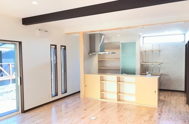 キッチン - ユウダイホーム 建築事例