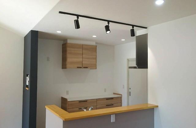 キッチンのクロス - ユウダイホーム 建築事例