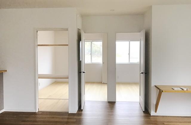 リビングから子ども部屋 - ユウダイホーム 建築事例