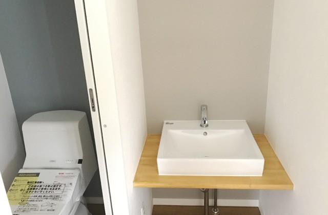手洗い - ユウダイホーム 建築事例