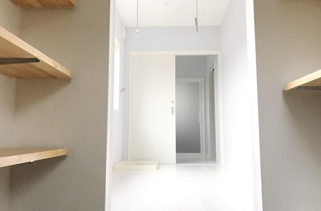 収納 - ユウダイホーム 建築事例