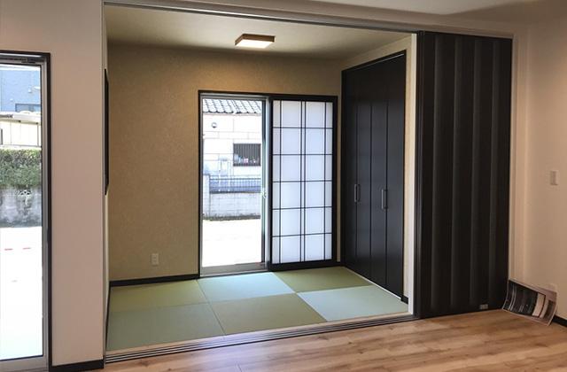 小松原展示場モデルハウス 和室